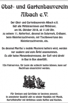kelterfest-albach-2018