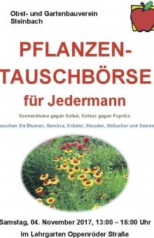 pflanzen-tauschboerse-steinbach