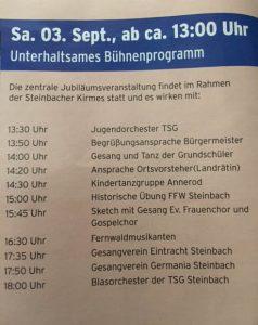 Steinbach 875 Jahre