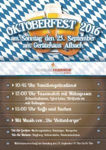 Oktoberfest in Albach
