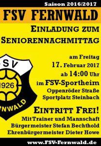 Seniorennachmittag des FSV 1926 Fernwald
