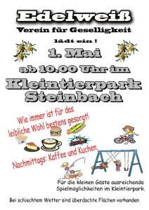 1. Mai Edelweiss Streinbach