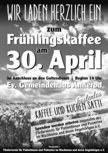 Frühlingskaffee Gemeindehaus Annerod