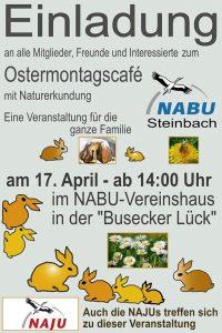 Ostermontagscafe Nabu Steinbach