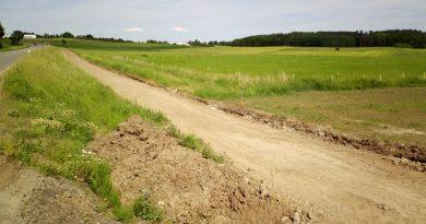 Radweg zwischen Steinbach und Garbenteich