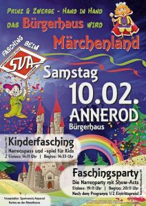 Fasching Annerod 2018
