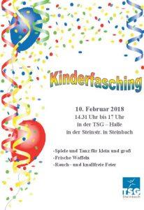 Kinderfasching Steinbach 2018