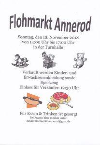 Flohmarkt in Annerod
