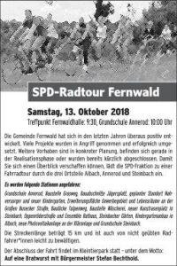 SPD-Fahrradtour durch Fernwald