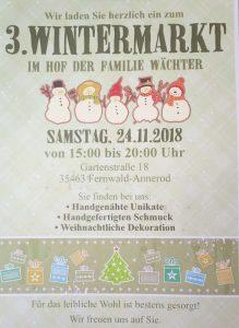 3. Wintermarkt der Familie Wächter