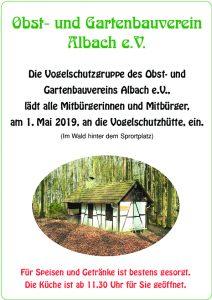 1. Mai beim Obst- und Gartenbauverein Albach