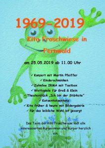 1969-2019: KITA Froschwiese
