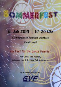 Sommerfest GVF 2019