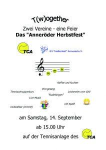Anneröder Herbstfest 2019