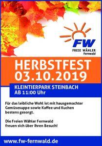 Herbstfest der Freien Wähler Fernwald