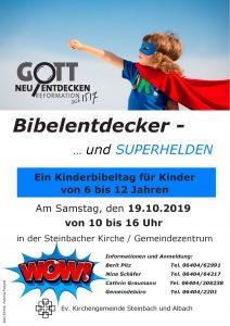 Bibelentdecker - … und SUPERHELDEN !