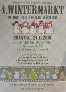4. Wintermarkt im Hof der Familie Wächter
