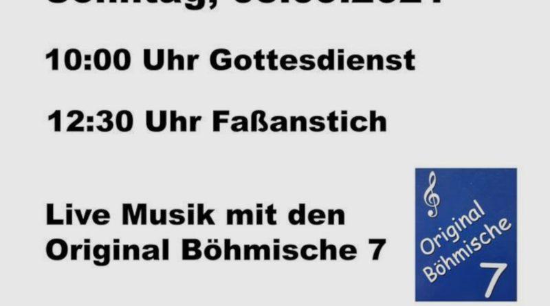 Burschenschaft Einigkeit Steinbach - Kirmes 2021 an der Fernwaldhalle