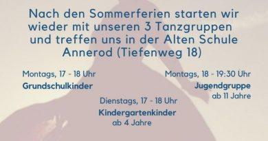Kinder- und Jugendtanzgruppe Annerod