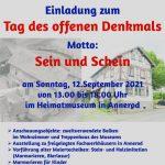 Heimatverein Annerod e.V. Einladung zum Tag des offenen Denkmals